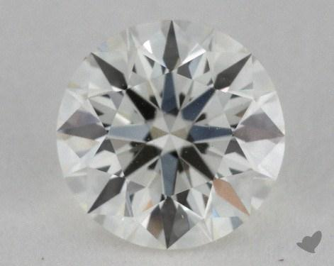 0.55 Carat J-VVS2 True Hearts<sup>TM</sup> Ideal Diamond