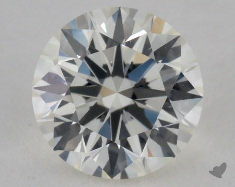 1.05 Carat K-IF Very Good Cut Round Diamond