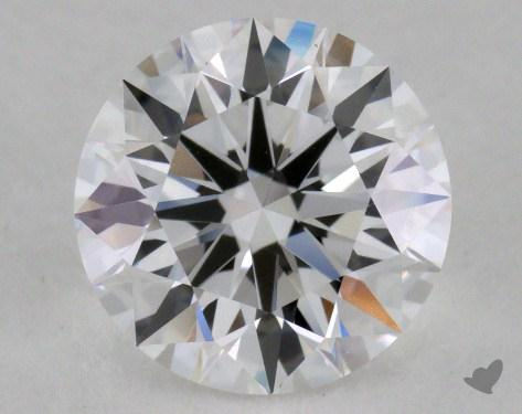 1.28 Carat D-IF Excellent Cut Round Diamond