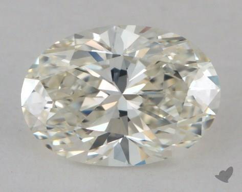 1.26 Carat J-VVS1 Oval Cut Diamond
