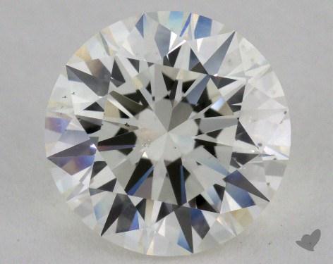2.05 Carat I-SI1 Excellent Cut Round Diamond