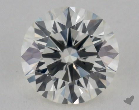 0.92 Carat K-VVS2 Very Good Cut Round Diamond