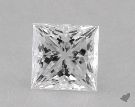 0.37 Carat D-SI1 Ideal Cut Princess Diamond