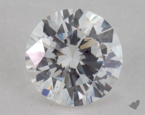 0.39 Carat G-VS2 Good Cut Round Diamond 
