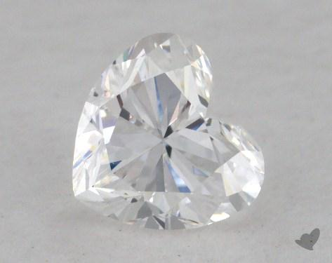 0.70 Carat E-SI1 Heart Shaped  Diamond