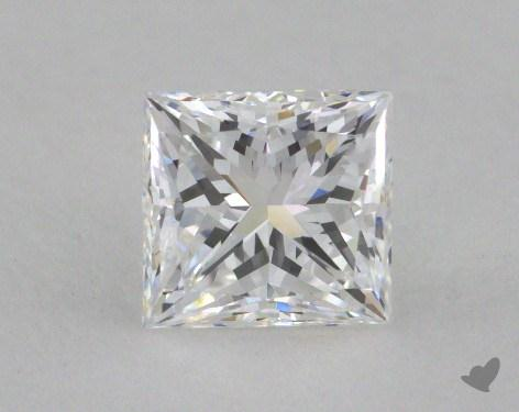 1.23 Carat D-VVS1 Very Good Cut Princess Diamond