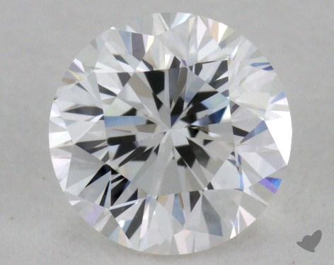 0.74 Carat F-VVS2 Good Cut Round Diamond