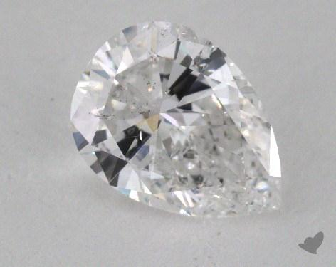 1.04 Carat D-I1 Pear Shape Diamond