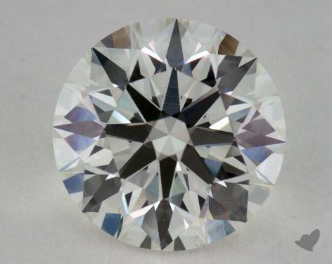 2.27 Carat H-VS2 Ideal Cut Round Diamond