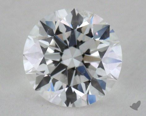 0.90 Carat D-SI2 Excellent Cut Round Diamond
