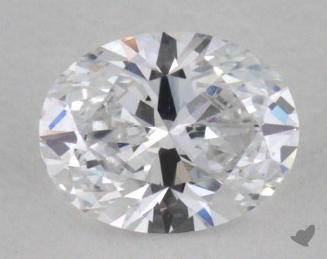 0.40 Carat D-VS1 Oval Cut Diamond