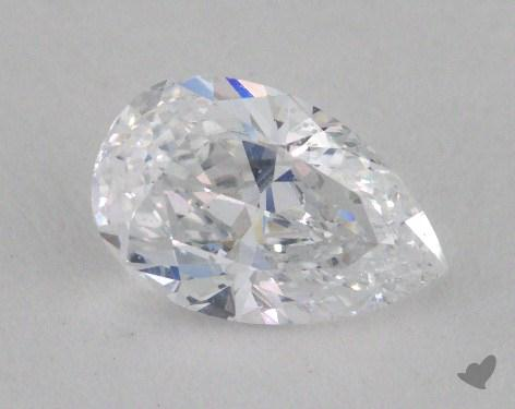 0.90 Carat D-SI2 Pear Shape Diamond