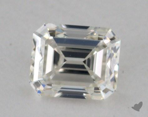0.62 Carat J-VS2 Emerald Cut Diamond