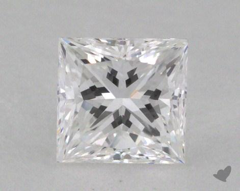 1.01 Carat E-VS1 Very Good Cut Princess Diamond
