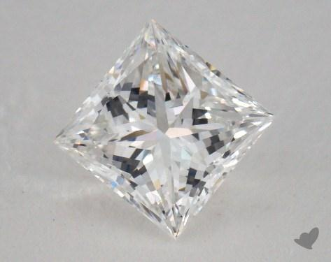 1.20 Carat D-VVS2 Very Good Cut Princess Diamond