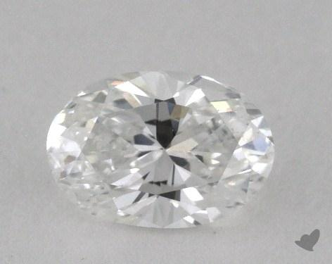 0.70 Carat E-VS1 Oval Cut Diamond