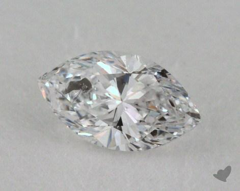 0.70 Carat D-I1 Marquise Cut  Diamond