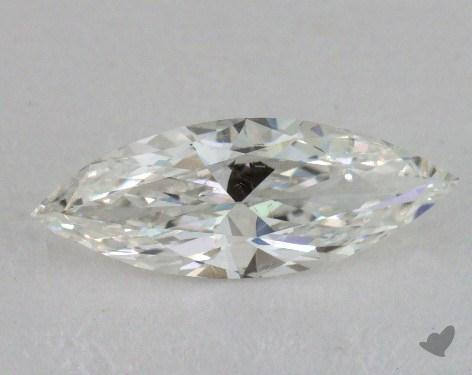 0.77 Carat H-SI1 Marquise Cut Diamond