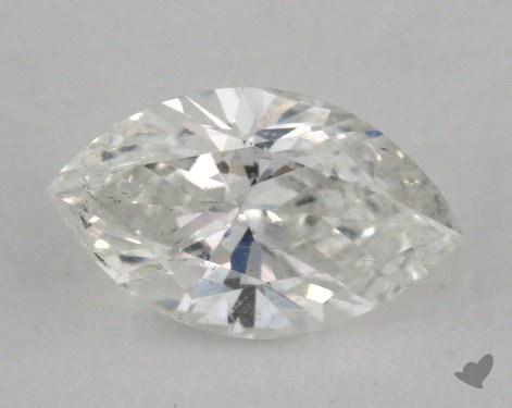 0.56 Carat F-I1 Marquise Cut Diamond