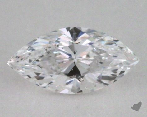 0.71 Carat D-I1 Marquise Cut Diamond
