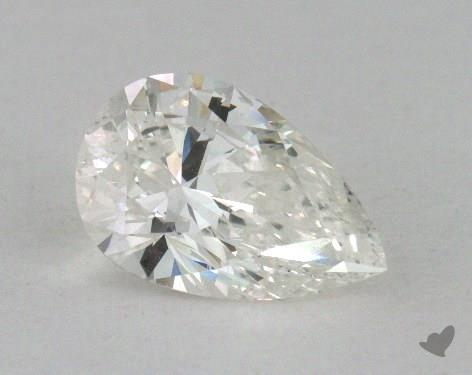 1.05 Carat I-SI1 Pear Shape Diamond