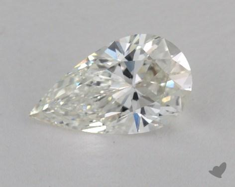 2.53 Carat H-VS2 Pear Shaped  Diamond