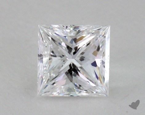 1.10 Carat D-VVS2 Ideal Cut Princess Diamond