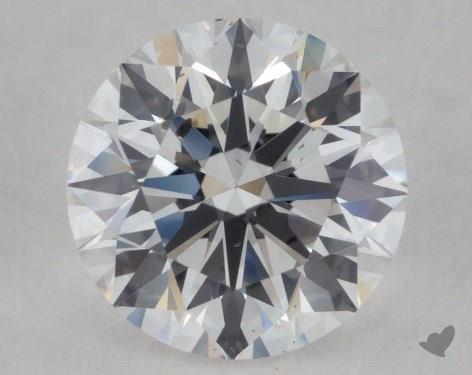 1.01 Carat E-SI1 Ideal Cut Round Diamond