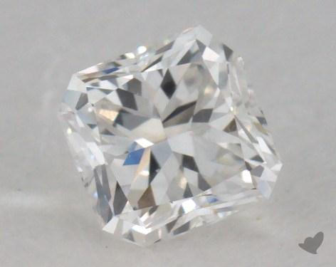 0.49 Carat E-VS1 Radiant Cut  Diamond