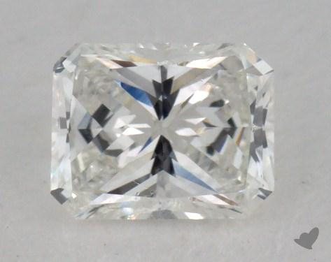0.43 Carat F-VVS1 Radiant Cut Diamond