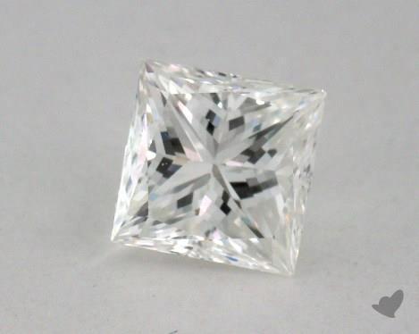 0.59 Carat H-VS2 Very Good Cut Princess Diamond
