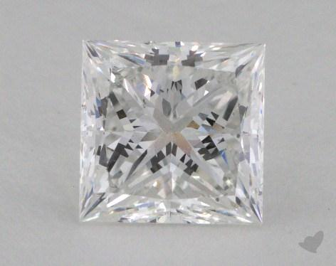 1.90 Carat E-SI1 Princess Cut  Diamond