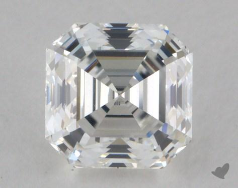 1.14 Carat E-VVS2 Square Emerald Cut Diamond