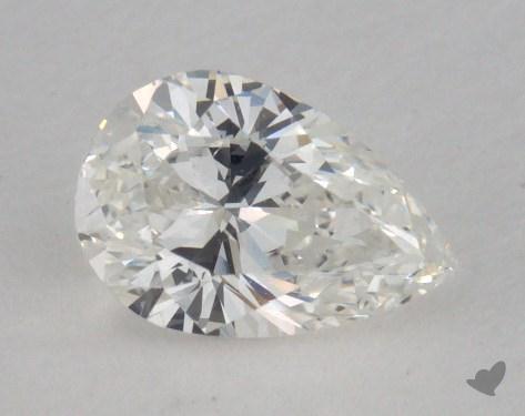 0.69 Carat G-SI1 Pear Shape Diamond