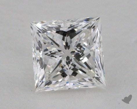 1.50 Carat F-SI1 Ideal Cut Princess Diamond
