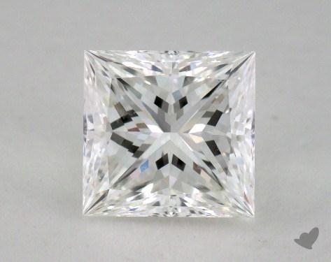 1.64 Carat F-SI1 Ideal Cut Princess Diamond
