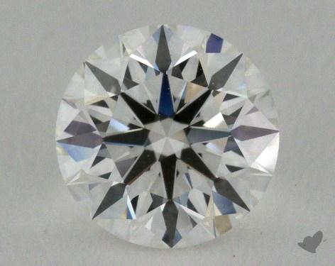 0.91 Carat H-VS1 Ideal Cut Round Diamond