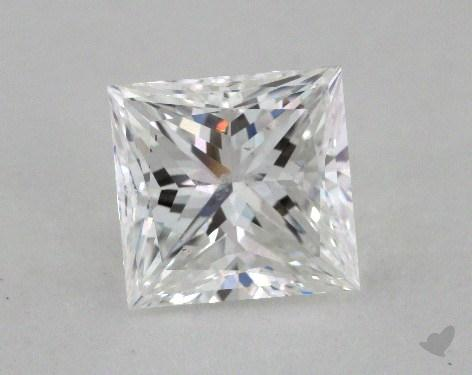 2.21 Carat F-SI1 Very Good Cut Princess Diamond
