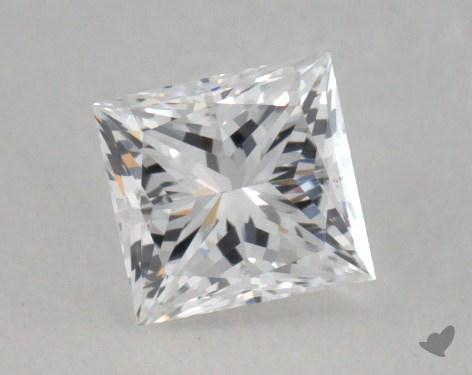 0.50 Carat D-SI2 Very Good Cut Princess Diamond