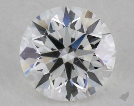 0.50 Carat E-VS1 Very Good Cut Round Diamond