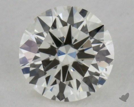 0.30 Carat I-SI1 Very Good Cut Round Diamond