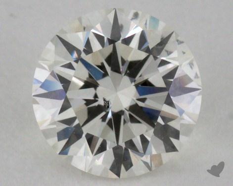 1.07 Carat I-SI1 Excellent Cut Round Diamond