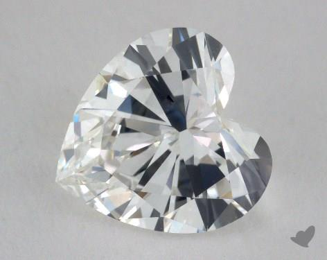 2.19 Carat G-VVS2 Heart Shaped  Diamond