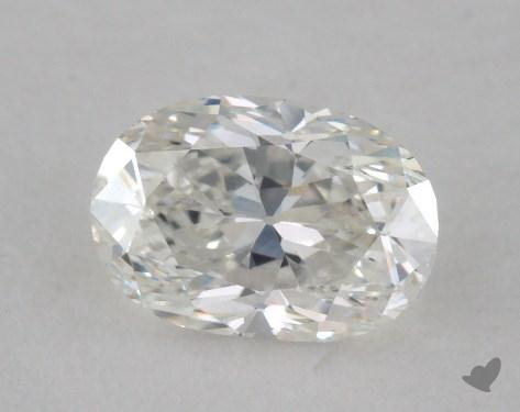 0.63 Carat F-VS1 Oval Cut Diamond