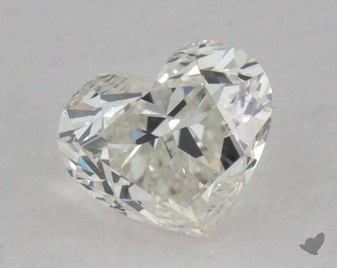 0.53 Carat J-VVS2 Heart Shape Diamond