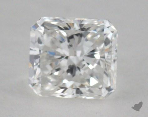 0.60 Carat F-VS2 Radiant Cut Diamond