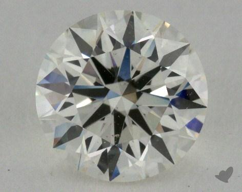 1.07 Carat J-SI1 Ideal Cut Round Diamond
