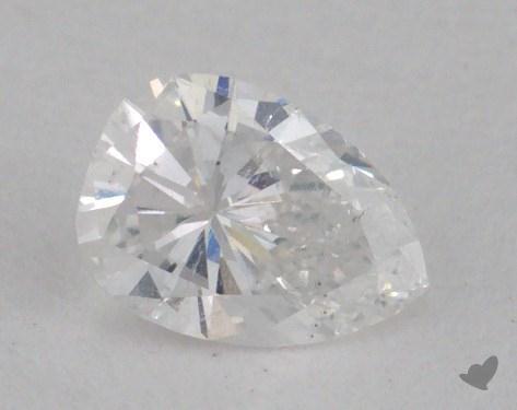 0.31 Carat D-SI2 Pear Shape Diamond
