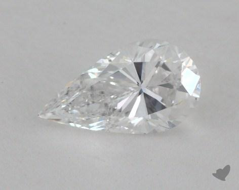 0.81 Carat D-VS2 Pear Shape Diamond