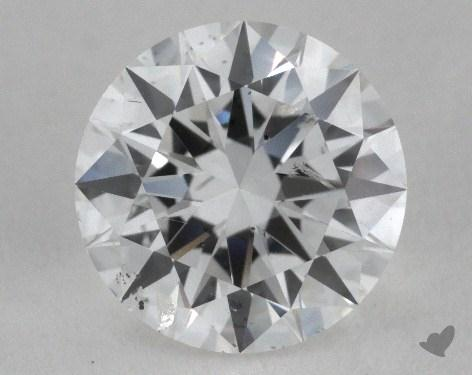 0.91 Carat E-SI2 Excellent Cut Round Diamond